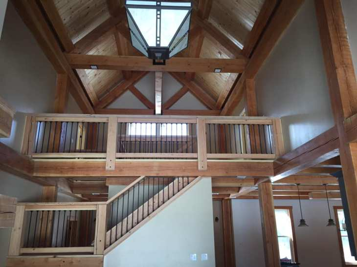 Timber frame home in Carp, Ontario - learn more