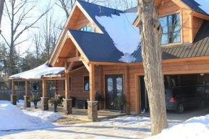 Ontario log home portfolio