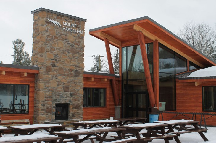 Commercial timberframe addition - learn more