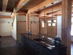 custom-kitchen-carp-timberframe-home