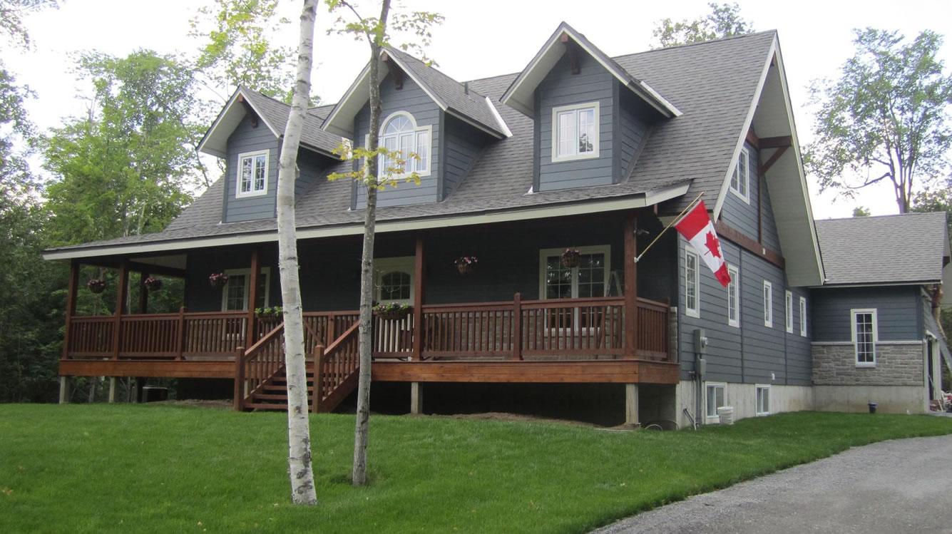 Timber frame home Carleton Place