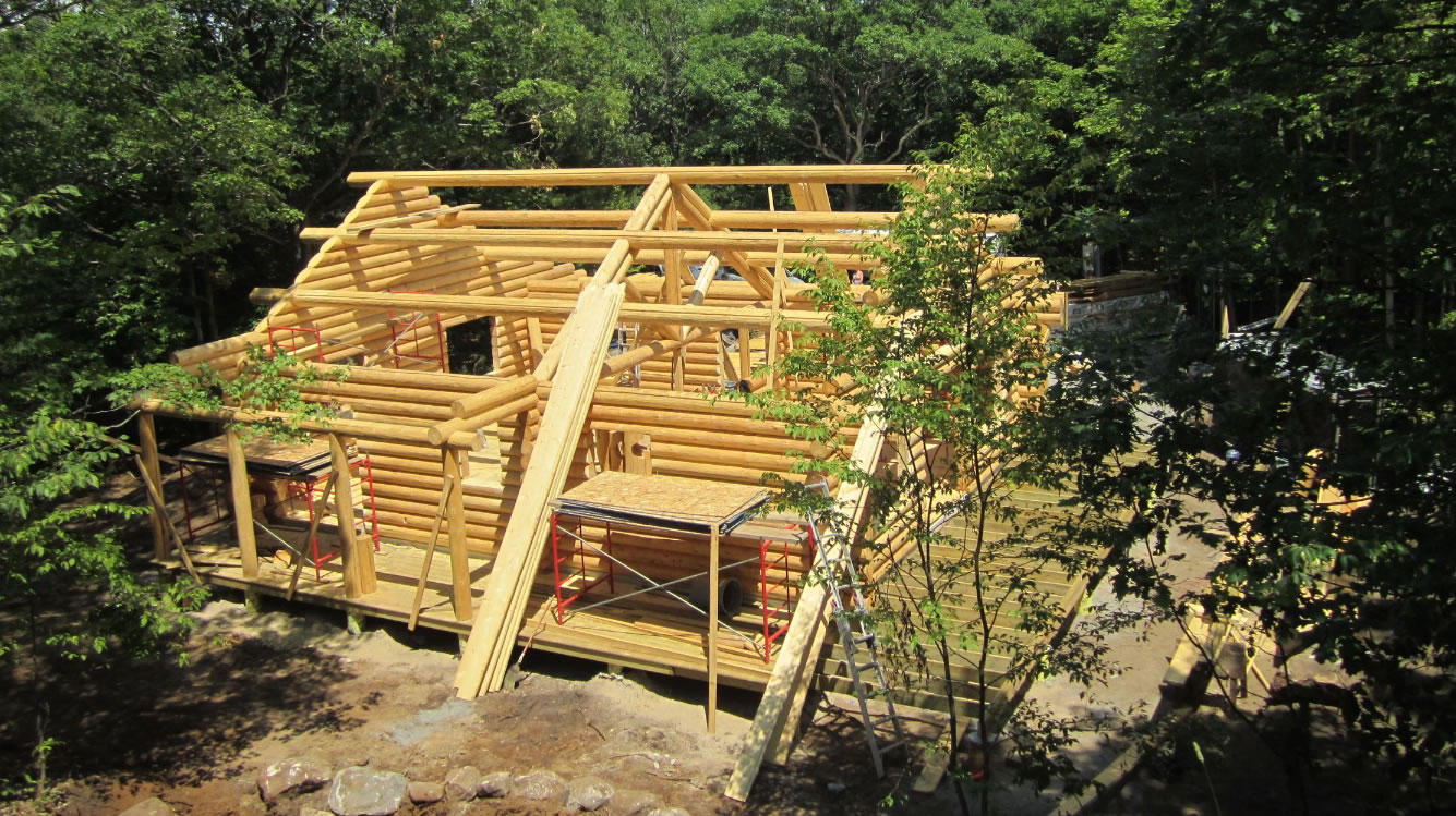 Muskokas log home builder