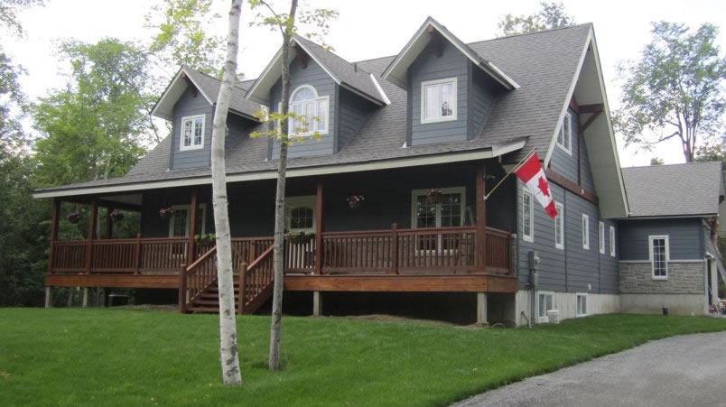 Timber frame home in Carleton Place, Ontario - click to learn more