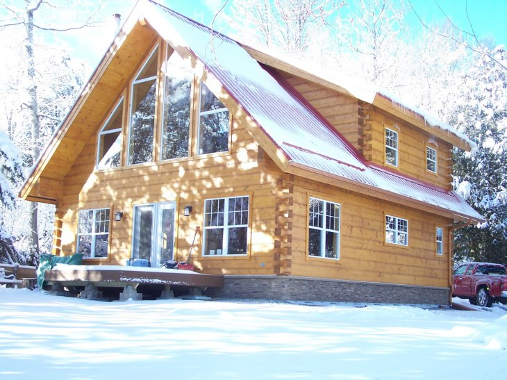 Lanark County timber frame home