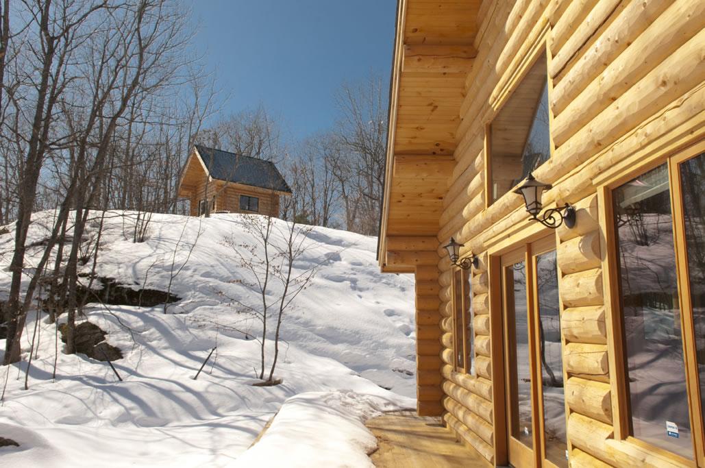 Log home builder Ontario