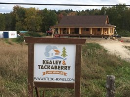 Ottawa log home - bungalow for retirement